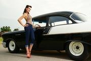 1957 Chevrolet Bel Air150210 Black  White