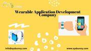 Wearable App Development Company   Wearable App Developers