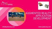 Augmented Reality App Development   AR Application Development Company